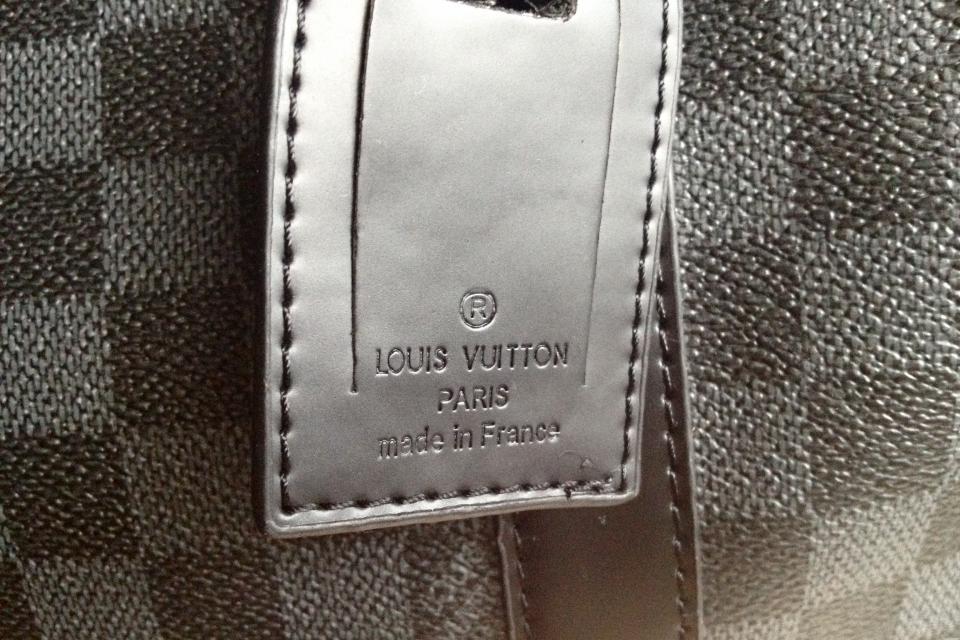 Louis Vuitton Damier Graphite Keepall 55 Large Photo
