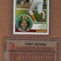 TONY GWYNN PADRES OUTFIELDER 1983 TOOPS ROOKIE #482 NM-MT Photo