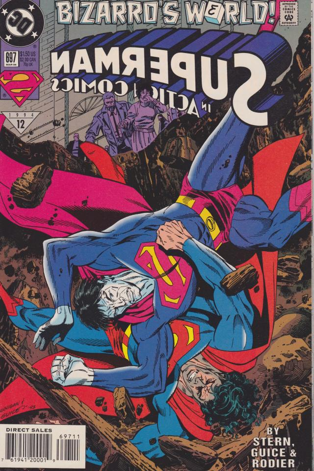 Bizarro's World - Superman in Action Comics #697 Photo