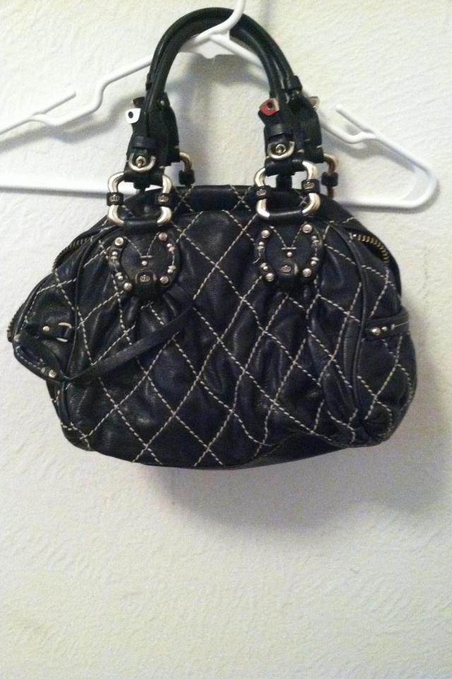 Black Juicy Couture leather quilted bag Large Photo