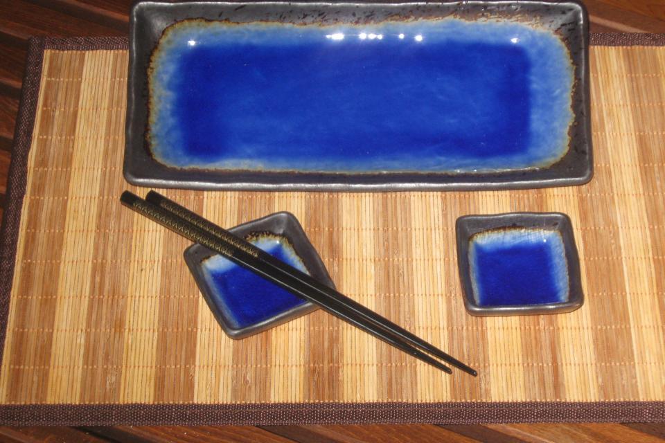 Japanese Dishes Large Photo