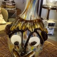 Hand Blown Murano Glass Clown Photo