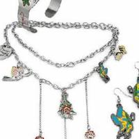 ED HARDY Crystal Enamel Jewelry Set Photo