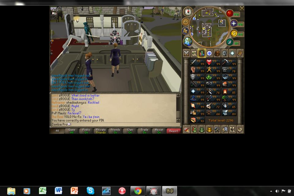 runescape  account!!! level 136!!! Large Photo