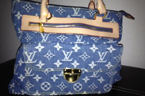 Louis Vuitton denim inspired bag Photo