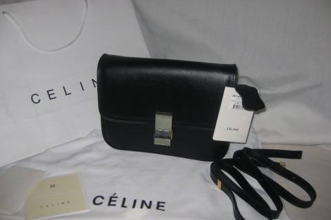 Celine Classic Flap Box Purse Photo