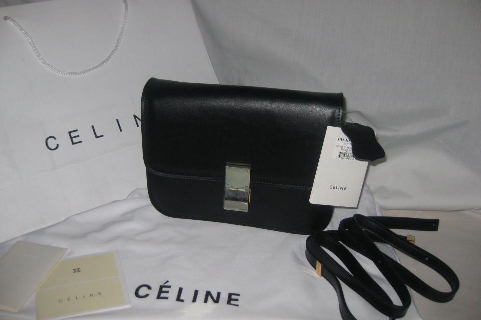 Celine Classic Flap Box Purse Large Photo