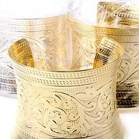 Cute Gold or Silver Cuff Photo