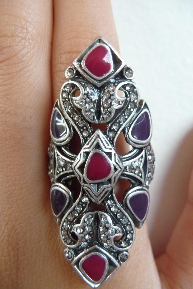 Lucky Brand Ring, Size 7 Large Photo