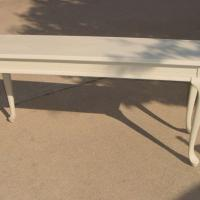 SOFA TABLE QUEEN ANNE LEGS FRENCH Photo