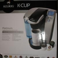 NEW Keurig Platinum B70 Single Serve Cof Photo