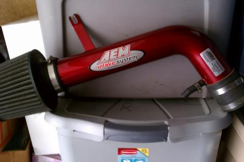 AEM CARB legal Short Ram Intake and O-Nex HID Ballast's  Photo