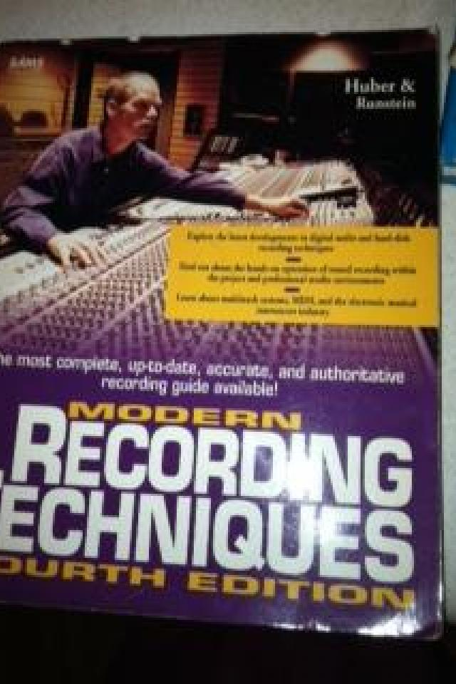 Modern Recording Techniques 4th Edition Large Photo