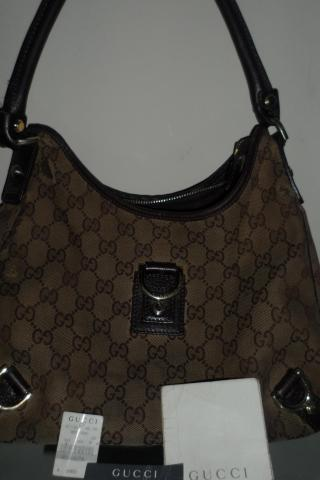 100% AUTHENTIC GUCCI ABBEY MEDIUM HOBO HANDBAG Photo