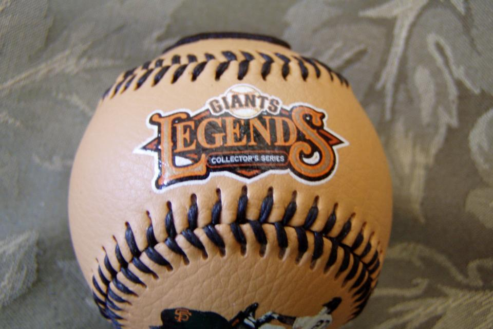 SAN FRANCISCO GIANTS LEGENDS  BASEBALL Large Photo