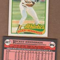 LOT of 20 RICKEY HENDERSON 1989 TOPPS TRADED #48T - MINT  Photo