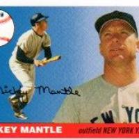 LOT OF 10 MICKEY MANTLE YANKEES 2006 TOPPS HOME RUN HISTORY MHR1 - MINT  Photo