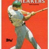 LOT of 15 MARK McGWIRE OAKLAND A's 1988 TOPPS '87 RECORD HOLDERS #3 NM-MT Photo