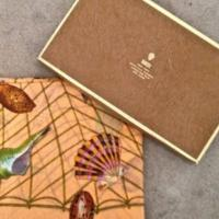 GUCCI VINTAGE SHELL SCARF WITH BOX Photo