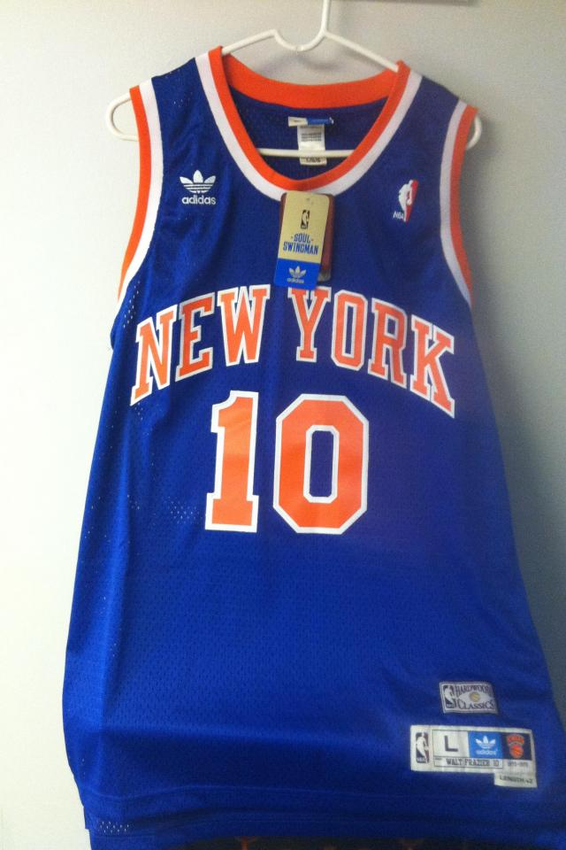 New York Knicks Walt Frazier Authentic Photo