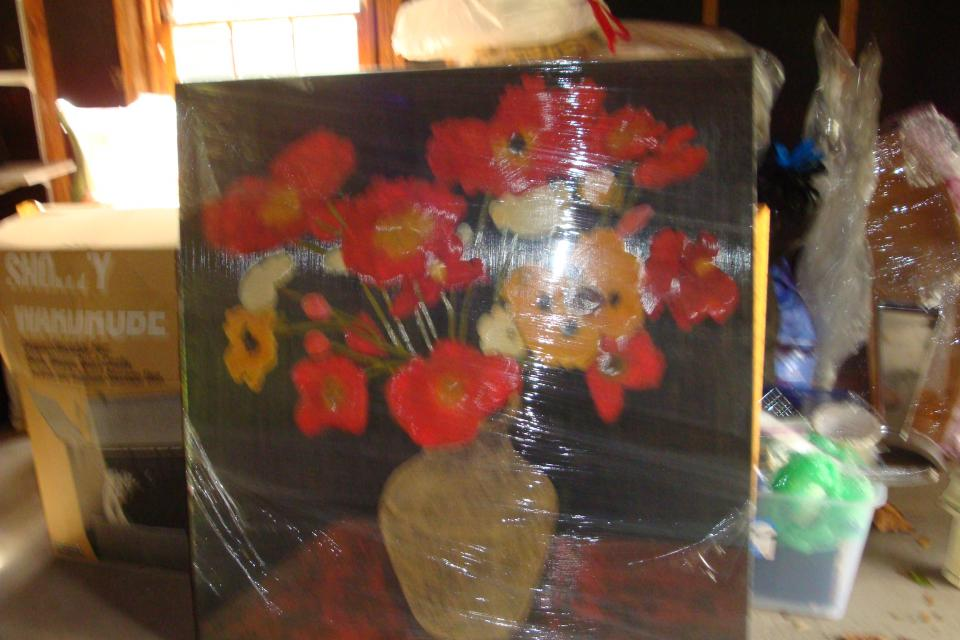 Painting, Poppy Bouquet by Beverly Jean Large Photo