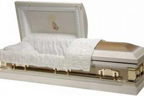 NEW FUNERAL CASKET Photo