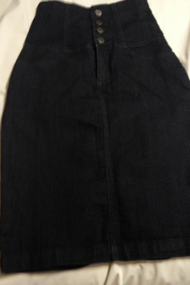 Forever 21 denim high waisted skirt Photo