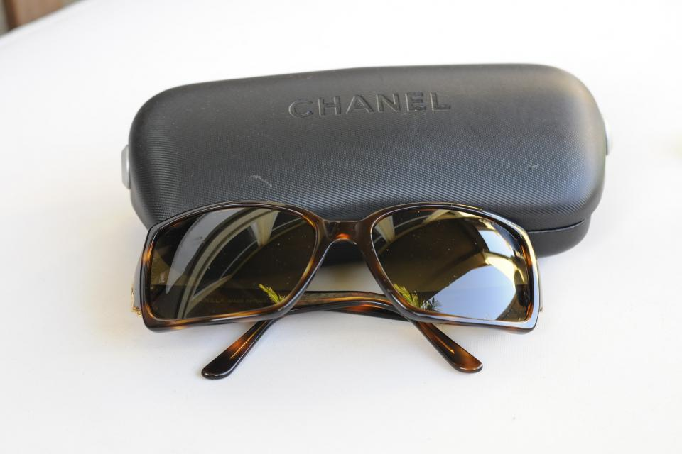 Vintage Chanel Sunglasses Large Photo