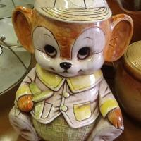 Vintage Teddy Bear Cookie Jar Photo