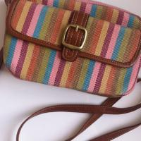 Striped Crossbody bag Photo