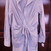 Long Sleeve Button Up Dress Photo