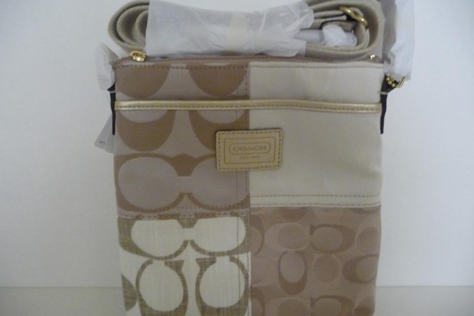 COACH PATCHWORK SWINGPACK  Large Photo