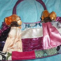 Mulitcolor Patchwork Purse Free Ship Photo