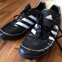 Men's Adidas Indoor Soccer Turf Shoes 10 Photo