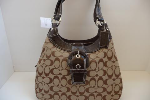 COACH SOHO SIGNATURE HOBO F17094 Photo