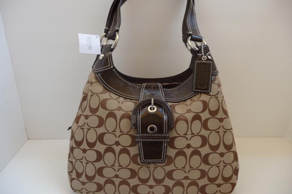 COACH SOHO SIGNATURE HOBO F17094 Large Photo