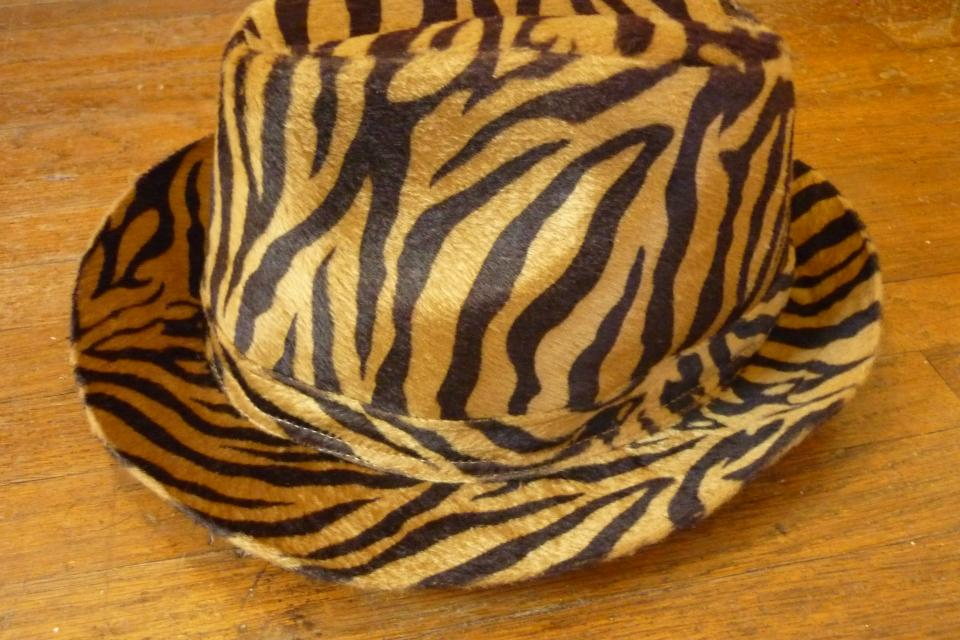 One of a Kind Leopard Print Fedora Large Photo