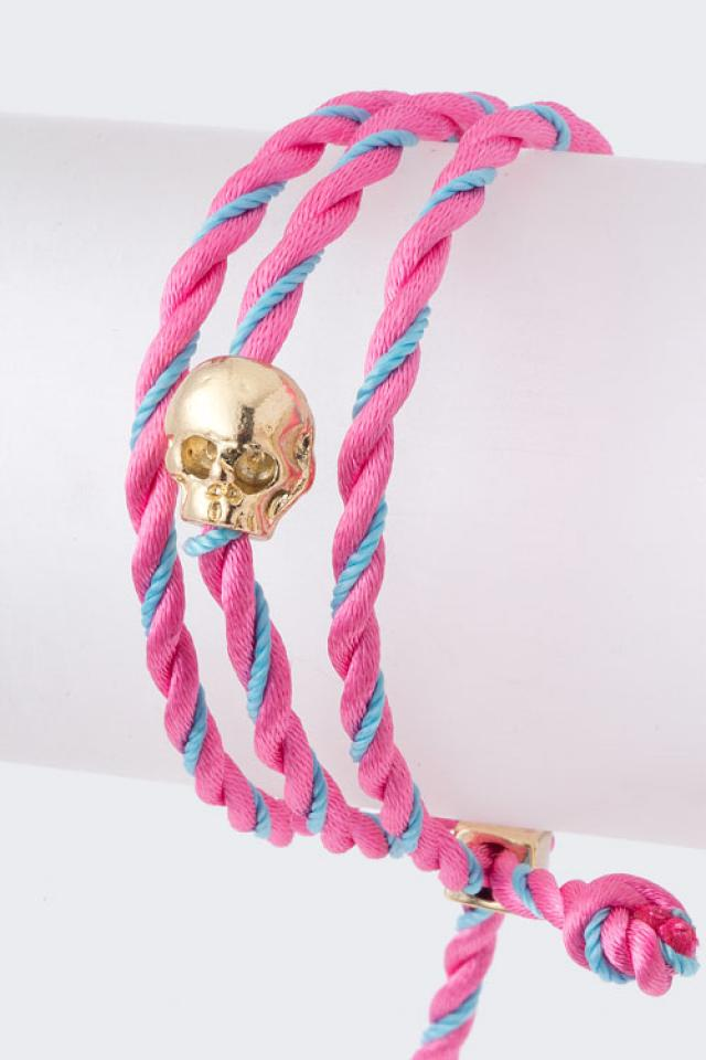 String Skull Bracelet Large Photo
