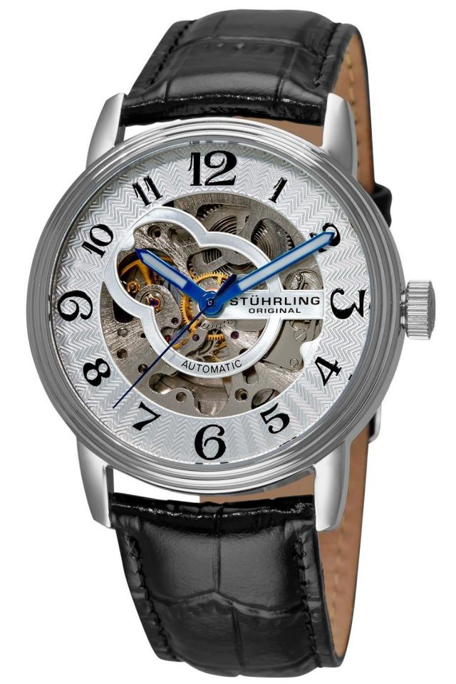 Stuhrling Original Men's Othello Skeleton Automatic