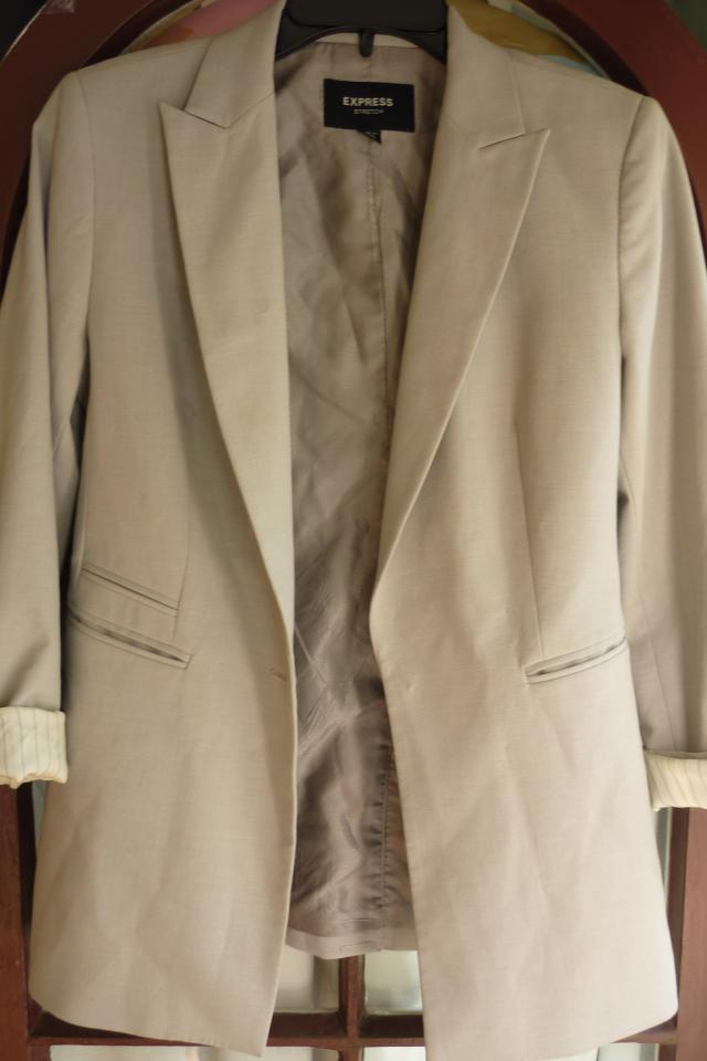 EXPRESS Blazer- Size 3/4 Large Photo