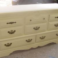 8 DRAWER DRESSER ALL WOOD GREAT SIZE  Photo