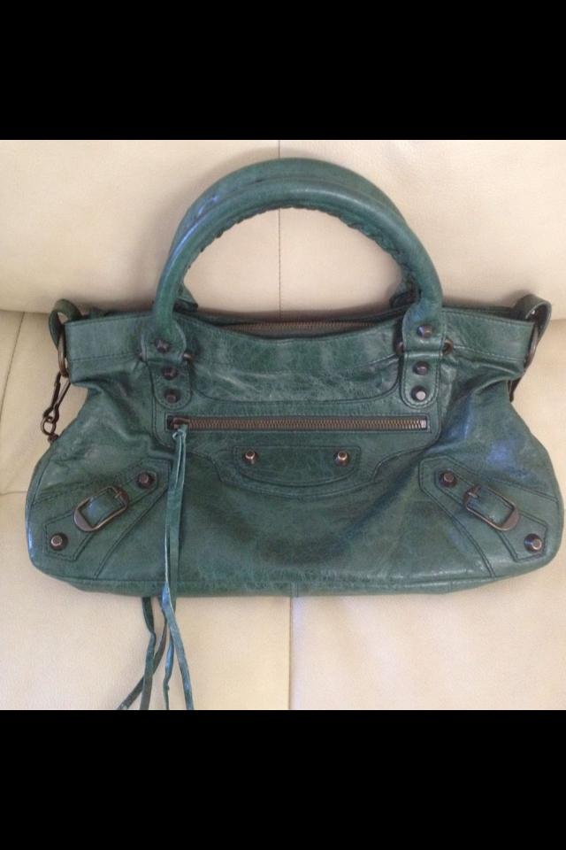 Balenciaga First Emerald Green  Large Photo
