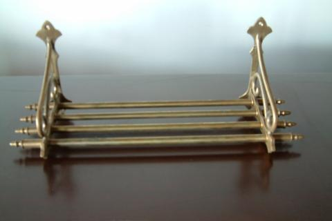 Brass wall rack Photo