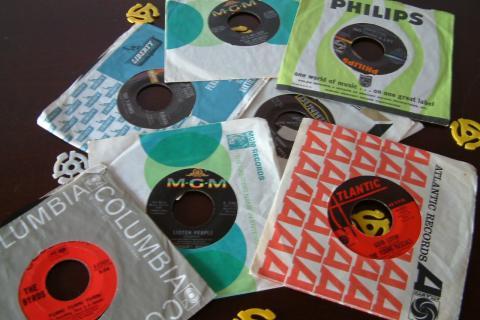 Vinyl - 45s {each} Photo