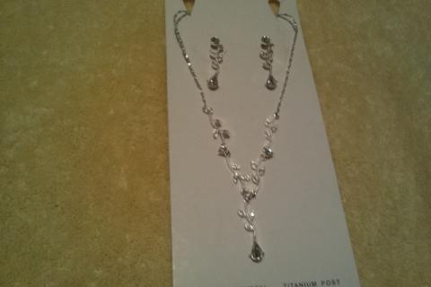 austrian crystal bridal set Photo