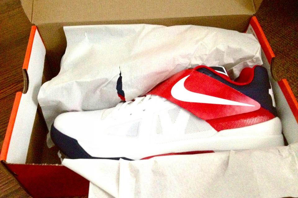 Kevin Durant IV USA Olympic Sneaker Large Photo