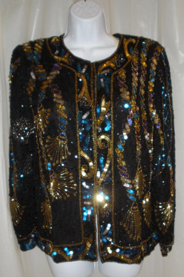 Laurence Kazar Sequin Jacket Photo