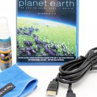 New Belkin LCD Cleaner Kit/HDMI Cable/Planet Earth Bluray Photo