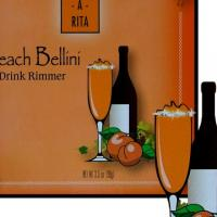 Wine-A-Rita Peach Bellini Drink Rimmer Photo