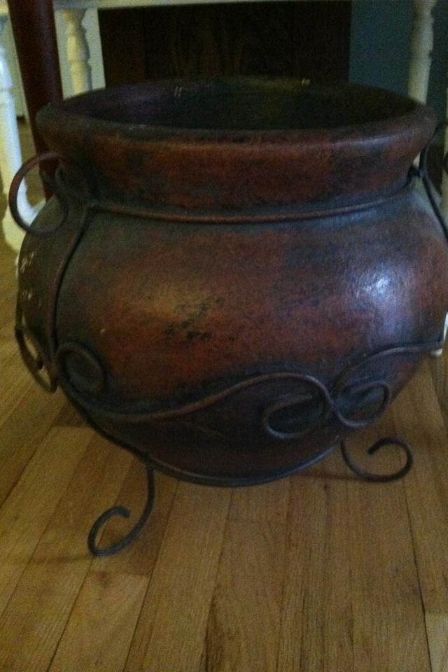Ceramic planter, Southwest style Photo